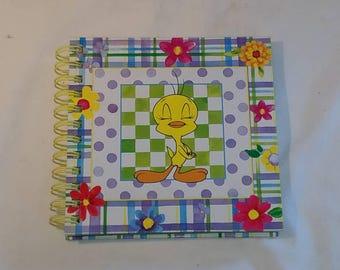 Looney Tunes Tweety Bird Journal/notepad 1998