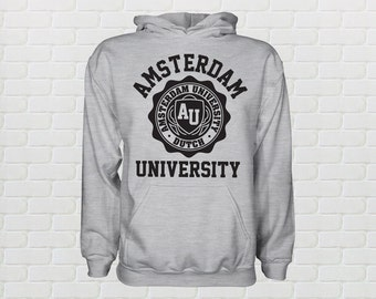 University of Amsterdam Hoodie - All Sizes Available