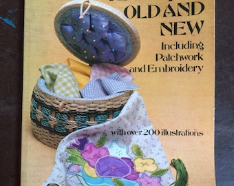 Vintage 1976 Applique Old and New by Nedda Anders