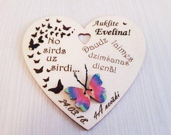 personalized heart,Handmade hearts,birthday gift,wedding gift,wooden heart,personalized gift,couple gift,Valentin gift,pendant,charm,pendent