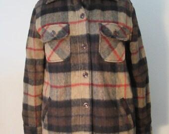 Image Is Loading Polo Ralph Lauren L Wool Plaid Lumberjack Jacket