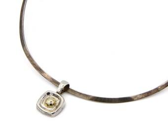 Silpada etsy silpada israel necklace torc cuff collar minimalist silpada pendant sterling torque collar aloadofball Images