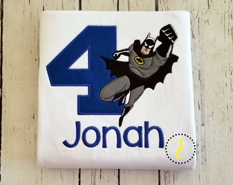 Superhero Birthday Shirt - Super Hero Birthday, Superhero Party, Birthday Outfit, 1st Birthday, Birthday Shirt Boy, Toddler Birthday, Bat