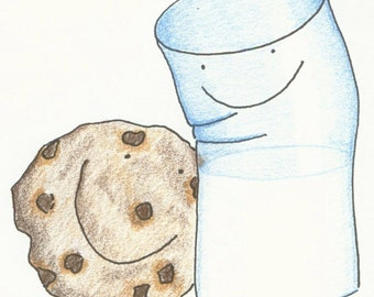 We go together like...Cookie and Milk