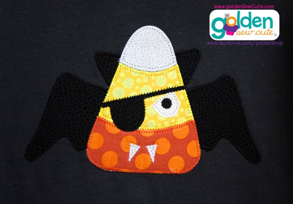 Halloween Candy Corn Bat Boy Tee, Boy Shirt, Onesie