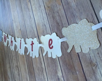 Whie Elephant banner