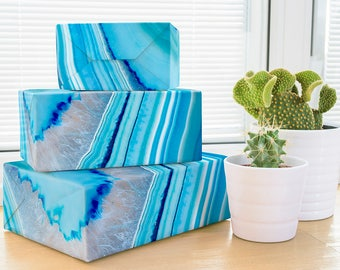 Geode Wrapping Paper; crystal wrapping paper; wedding gift wrap; father's Wrapping Paper; wedding gift wrap; geode rock wrapping paper geode