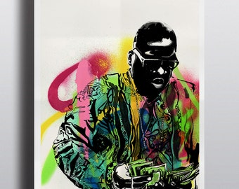 Biggie Smalls Illustration - High Quality A3 / A2 Print