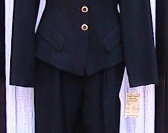 Size 10 bebe Pant Suit black