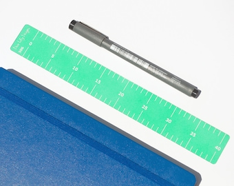 5mm Ruler Tool, Bullet Journal Stencil - 506