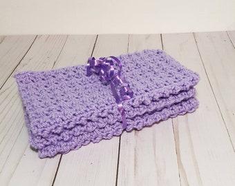 Crochet Facecloth, Set of 3, Scrubbie Facecloth, Handmade Cloth, Facecloth Set