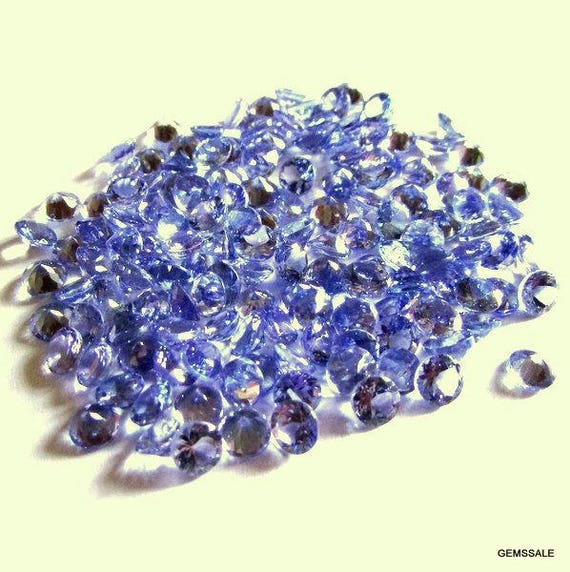 beads loose store purple genuine tanzania blue gemstone product stones tanzanite high dark round natural quality