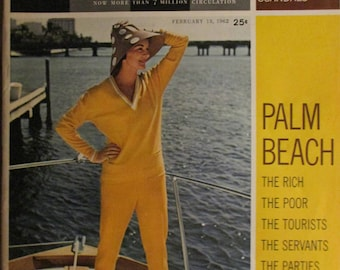 February 13, 1962 LOOK MAGAZINE Palm Beach