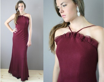 INCREDIBLE Vintage 1960s MAXI Shannon Rodgers for Jerry Silverman Gown