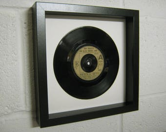 """Olivia Newton-John """"You're The One That I Want"""" Special Unique Wall Framed Record Gift"""