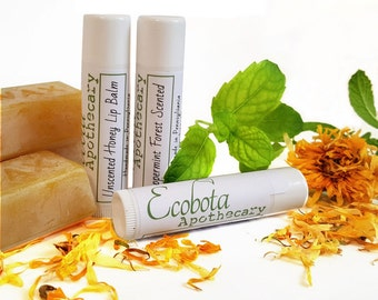 Beeswax and Honey all natural Lip Balm