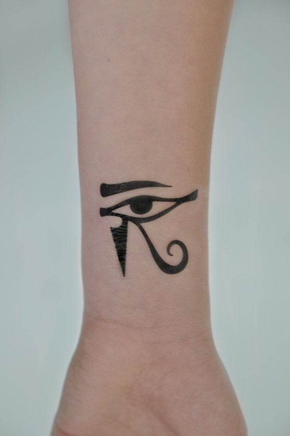 Temporary Tattoos That Last A Long Time: Eye Of Horus Temporary Tattoo Evil Eye Small Temporary