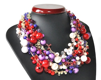 kama4you 3495 necklace crochet