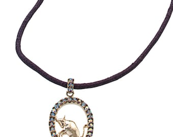 Zodiac Necklace Aquarius