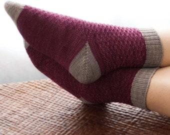 Shine Bright Socks PDF Knitting Pattern