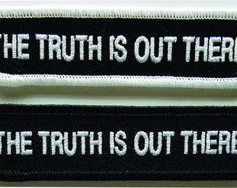The Truth Is Out There Embroidered X-Files Patch