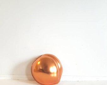 Vintage Peach Copper Jelly Mold