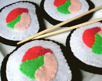 Felt Sushi Coasters - MugMats Set of Four