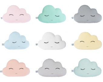 Cloud pillow Cloud cushion Nursery decor Baby girl nursery Baby boy nursery baby shower gift kids room decor kids pillows new baby gift idea