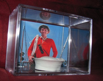 """Gilligan's Island """"In Color""""Hat(Inspired) display/NEW Unique!!!..(We Combine Shipping)..(Found It Floating in the Water)"""