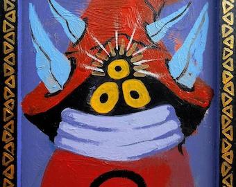 Orko, Portrait Fantastico, fantastic portrait surrealism Pop Art He-Man TV series