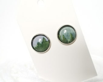 Tree Line - Earrings
