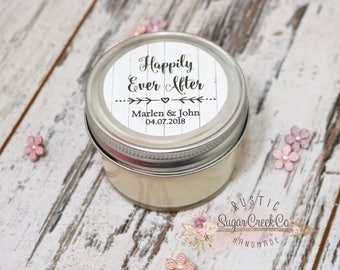 Set of 12 - 4 oz Soy Candle Wedding Favors, Candles, Wedding Favor Candles, Personalized Wedding Favors, Candle Wedding Favor, Favors