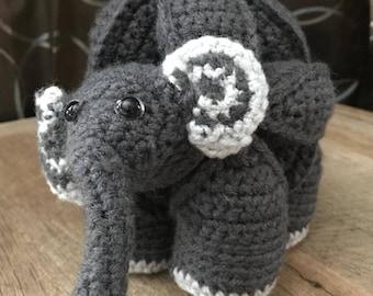 Amamani Crochet Elephant Puzzle Ball