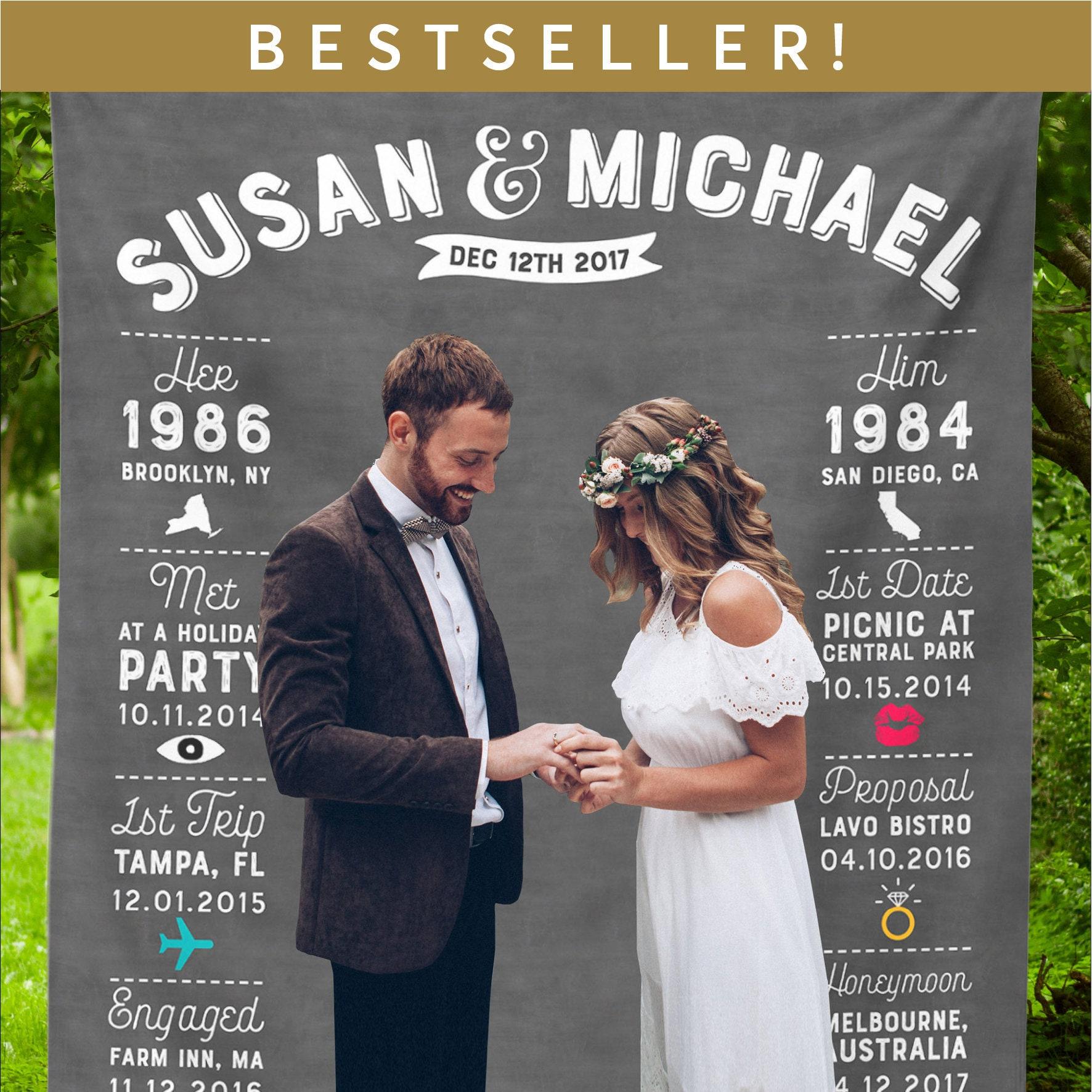 Rustikale Hochzeit Kulisse Hochzeits-Foto-Stand-Tafel