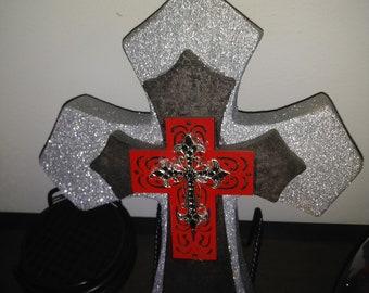 Wooden cross handmade