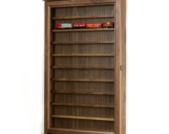 Model Train display case cabinetHO Scale