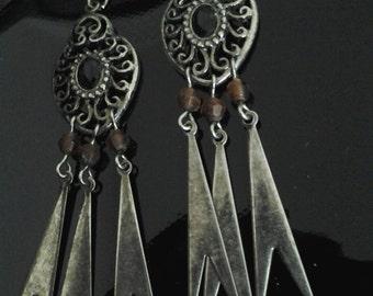 Vintage cute summer earrings