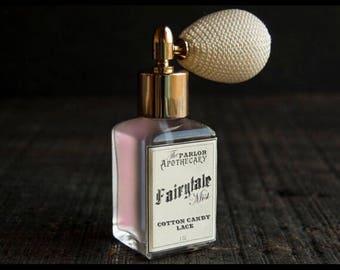 CUSTOM Fairytale Mist - Cotton Candy Lace Perfume - Vanilla Cream - Atomizer Bottle -1 oz