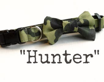 DOG COLLAR, Dog Collars, The HUNTER, Hunting Dog Collar, Camo Dog Collar, Camouflage, Cool Dog Collars, Camouflage