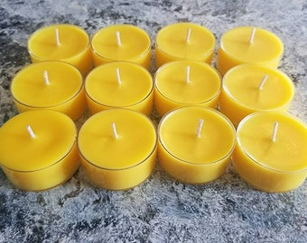 Citronella Soy Tea Light Candles