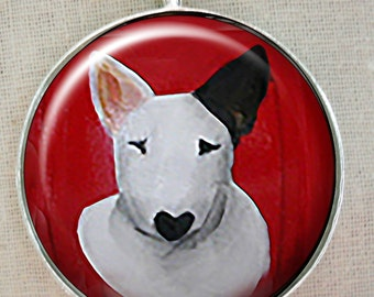 Bull Terrier Keychain ~ Bully Gift ~ Trending Items ~ Target Dog ~ May Birthday ~ Dog Keychain