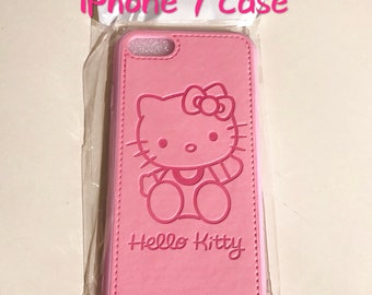 Hello Kitty iPhone 8/7 leather case