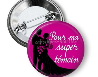 Badge 50 mm for my super light, gift, wedding