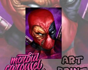 Deadpool A4 Giclee Art Print