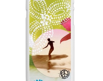 iPhone 6s/6, iPhone 6s/6 Plus Cases, BINDI SEAS, iPhone6s, iPhone 6s Plus, Surfing, Ocean, Best Seller, Avail. with Black or White Sides