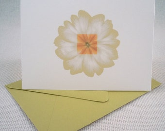 Flower - Any Occasion Blank Card - Set of 6