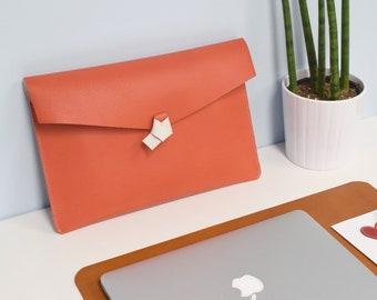 En cuir MACBOOK cas 13 pouces pour les femmes - cuir MacBook, Macbook Pro case, étui Macbook Air, Macbook housse, sac pochette en cuir