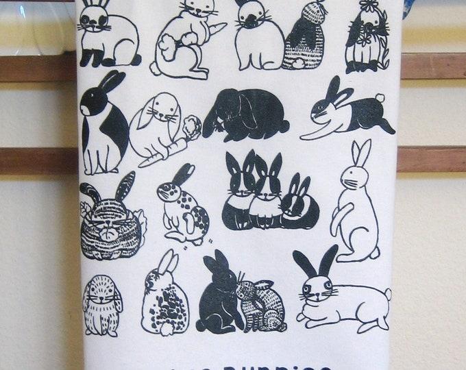 I Like Bunnies Kitchen Towel