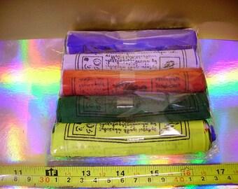 4 inch Tibetan Buddhist  prayer flags