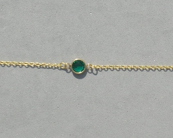 Swarovski May Birthstone Bracelet